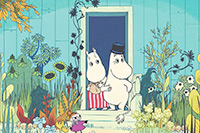 Les Moomins s'exposent