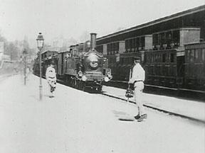 Arrivée d'un train