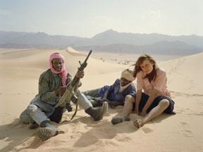 La Captive du désert