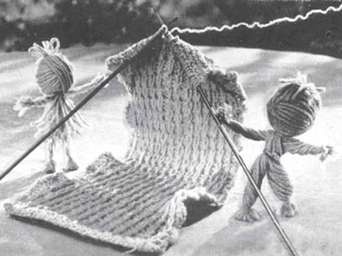 Deux pelotes de laine