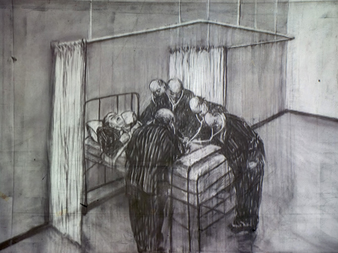Ten Drawings for Projection : 6. History of  the Main Complaint