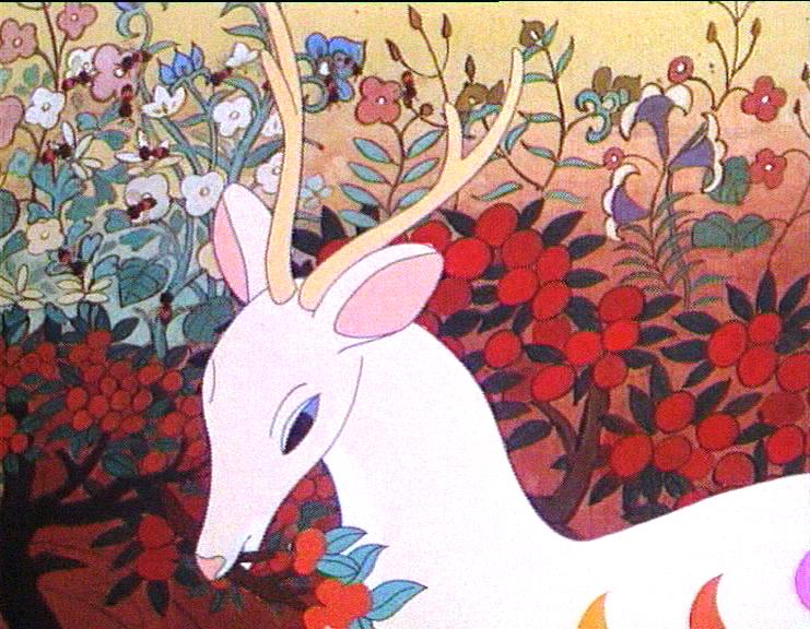 Le Cerf aux neufs couleurs