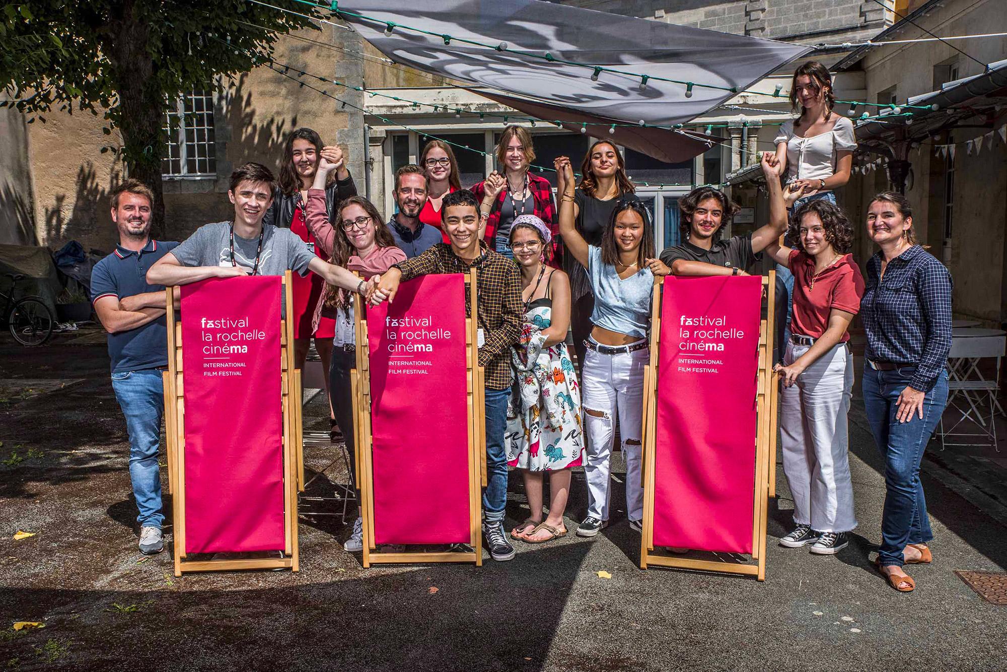 Les lycéens d'Au cœur du festival